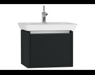 54559 - T4 Washbasin Unit 60cm, Matte Grey