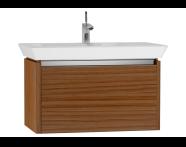54568 - T4 Washbasin Unit 80cm, Hacienda Brown