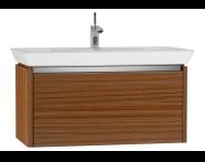 54574 - T4 Washbasin Unit 90cm, Hacienda Brown