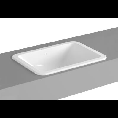 S20 Square Countertop Basin 50 cm VitrA UK