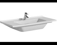 5480B095-0001 - S50 Vanity Basin, 120 cm