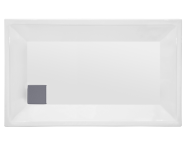 54980003000 - T70 120x70 cm Dikdörtgen Flat(Gömme) , Sifon