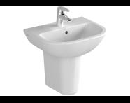 5500L003-0022 - S20 Cloakroom washbasin, 45cm