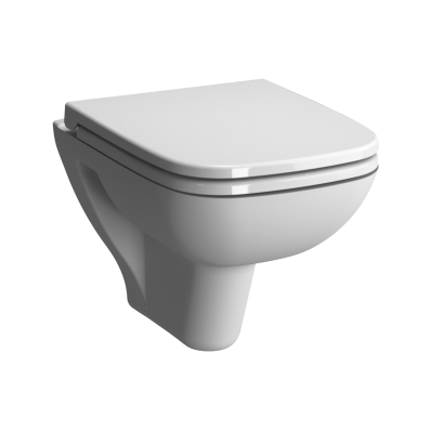 S20 Short Projection Wall-Hung WC Pan, 48 cm