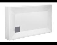 55060002000 - T70 120x70 cm Dikdörtgen Monoblok Duş Teknesi