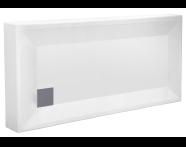 55080002000 - T70 140x70 cm Dikdörtgen Monoblok Duş Teknesi