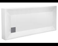 55090003000 - T70 150x70 cm Dikdörtgen Monoblok , Sifon