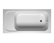 55160007000 - Balance Oturmalı 150x75 cm Dikdörtgen, Kumandalı Sifon,Ayak