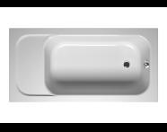 55160008000 - Balance Oturmalı 150x75 cm Dikdörtgen ,Kumandasız Sifon,Ayak