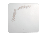 55163 - Gala Classic Illuminated Mirror with Pattern 80 cm