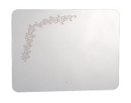 55164 - Gala Classic Illuminated Mirror with Pattern 100 cm