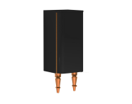 55179 - Gala Classic Medium Unit Black High Gloss-Copper (Right)