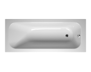 55180012000 - Balance 170x70 cm Dikdörtgen/Tek Taraflı Aqua Soft Easy-ABS Jetli, Çift Tutamaklı