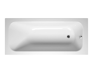 55190012000 - Balance 170x75 cm Dikdörtgen/Tek Taraflı Aqua Soft Easy-ABS Jetli, Çift Tutamaklı
