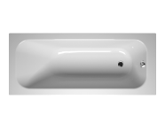 55200044000 - Balance 165x70 cm Dikdörtgen/Tek Taraflı ,Kumandasız Sifon,Ayak, Çift Tutamaklı