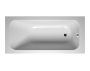 55220044000 - Balance 160x75 cm Dikdörtgen/Tek Taraflı ,Kumandasız Sifon,Ayak, Çift Tutamaklı