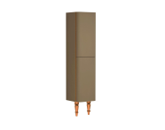 55222 - Gala Classic Tall Unit Beige High Gloss-Copper (Right)