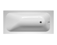 55230043000 - Balance 150x70 cm Dikdörtgen/Tek Taraflı, Kumandalı Sifon,Ayak, Çift Tutamaklı