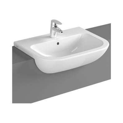 S20 Semi-Recessed Basin, 55 cm