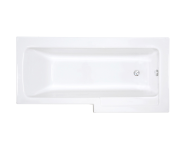 55380001000 - Neon 170x85x75 cm Shower Bathtub, Right