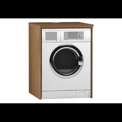 Çamaşır Makinesi Paneli, U-Oyuklu, Hareli Doğal Ahşap