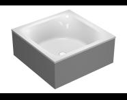 55960016000 - T4 160x160 cm Square Aqua Maxi, with 1 Light
