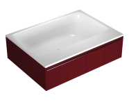 55970016000 - T4 190x140 cm Rectangular/Double-Sided Aqua Maxi, with 1 Light