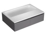 55980016000 - T4 190x130 cm Rectangular/Double-Sided Aqua Maxi, with 1 Light