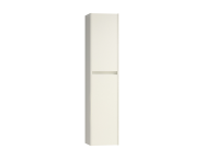56001 - Step Tall Unit, Left, White High Gloss