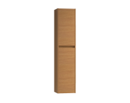 56002 - Step Tall Unit, Left, Teak