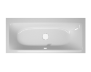 56010009000 - T4 180x80 cm Rectangular/Double-Sided Aqua Soft