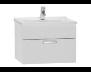 56066 - S50 Washbasin Unit, 60 cm (White)