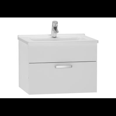 S50 Lavabo dolabı, 60 cm, Parlak beyaz