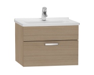 56067 - S50 Washbasin Unit, 60 cm (Golden Cherry)