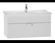 56068 - S50 Washbasin Unit, 80 cm (White)