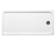 56070005000 - Kimera 180x75 cm Dikdörtgen Flat(Ayaklı ve Panelli) , Ayak, Sifon