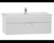 56072 - S50 Washbasin Unit, 120 cm (White)