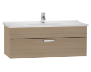 56073 - S50 Washbasin Unit, 120 cm (Golden Cherry)