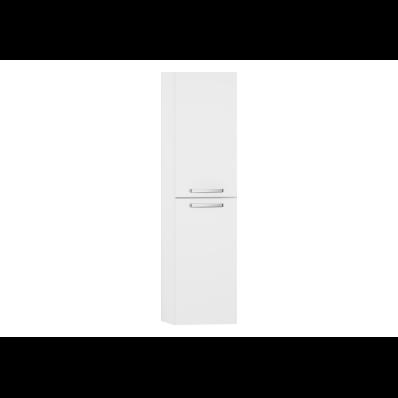 S50 Boy dolabı, 36 cm, Parlak beyaz, sol