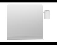 56154 - Nest Trendy Raflı Ayna, 80 cm