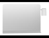 56155 - Nest Trendy Raflı Ayna, 100 cm