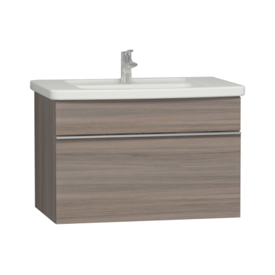 Era Washbasin Unit 80 cm, Grey Oak