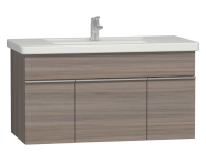 56208 - Era Washbasin Unit 100 cm, Metallic Mink