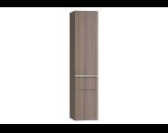 56217 - Era Tall Unit, Left, Grey Oak