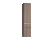 56219 - Era Tall Unit, Left, Metallic Mink