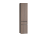 56220 - Era Tall Unit, Right, Grey Oak