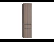 56220 - Era Tall Unit, Right, Grey Oak