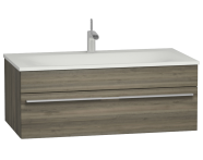 56239 - System Infinit Washbasin Unit 100 cm, Soft Moulded with Sink