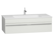 56241 - System Infinit Washbasin Unit 120 cm, Hidden Syphon with Sink