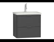 56325 - Nest Washbasin Unit with 2 drawers 60 cm, to suit  5685 washbasin
